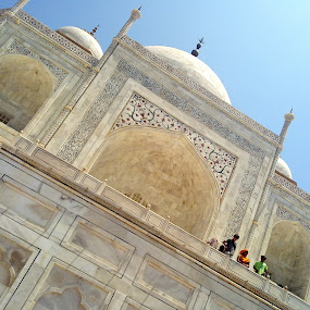 The Taj Mahal. by Nitish Khureja - Buildings & Architecture Statues & Monuments ( taj, agra, india )