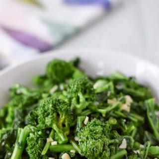 Brazen Garlicy Broccoli Rabe