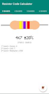 Resistor Code Calculator - náhled
