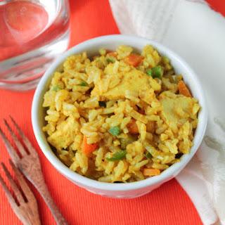 Curried Chicken & Veggie Brown Rice Bowl – Gluten Free