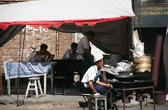 Photo: 03403 二連/市街/露店食堂
