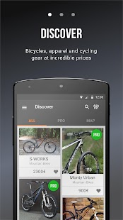BKIE, flea market for bikes- screenshot thumbnail