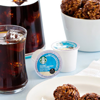 Chocolate Almond Granola Bites