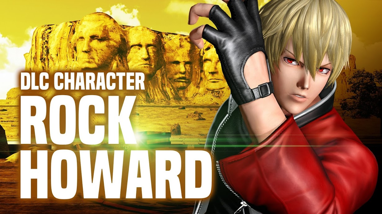 [The King of Fighters XIV] DLC คาแรคเตอร์ลับ Rock Howard!