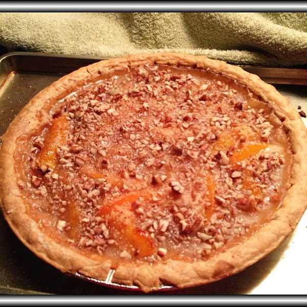 Reethy's Nutty Top Nude Peach Pie Recipe