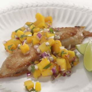 Beer-Battered Tilapia with Mango Salsa