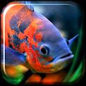 Aquarium 3D. Video Wallpaper icon