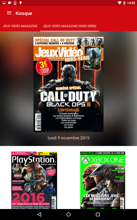 jeux vid o magazine android apps on google play. Black Bedroom Furniture Sets. Home Design Ideas