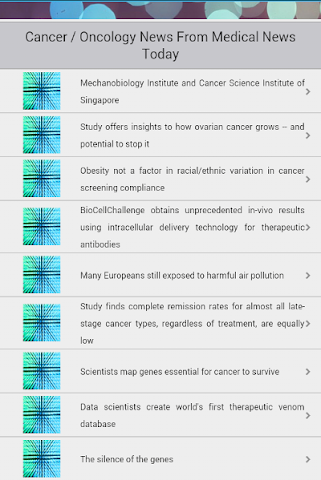 android Oncology Screenshot 1