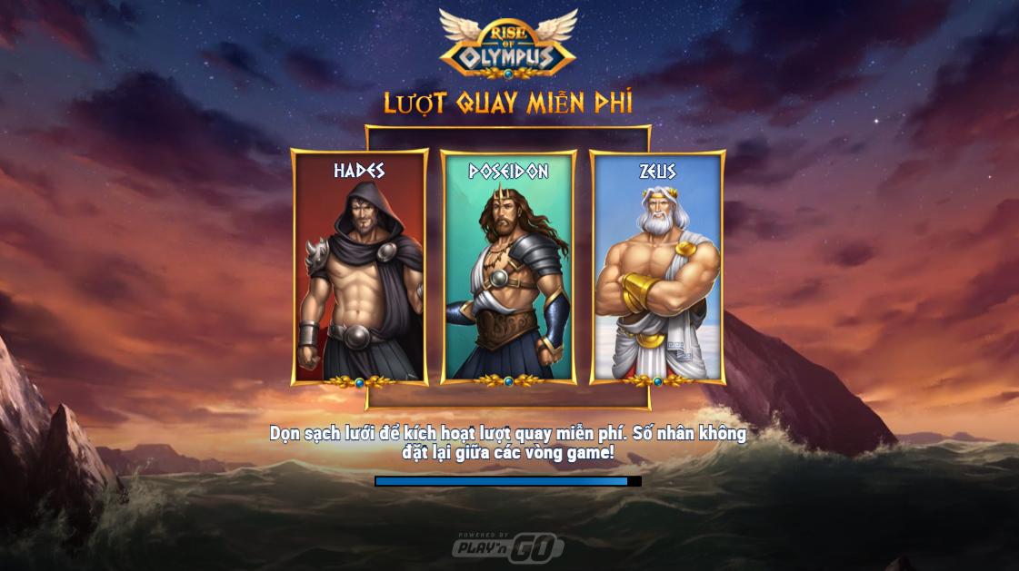 Review trò chơi: Rise of Olympus slot từ Play'n Go