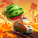 Zoo Road Bounce: Car Racing, Pet & Animal Rescue icon
