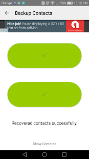 App Easy backup contacts APK for Windows Phone