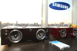 Photo: The Samsung DA-E750 Audio Dock.