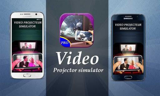 Video Projector Simulated free