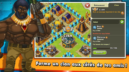 Jungle Heat: War of Clans  captures d'écran 2