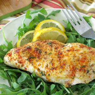 Baked Lemon Pepper Chicken.