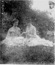 Photo: Clara Schwenacke and Jayne B. Kerr, May 1902.  Marshall, Illinois.