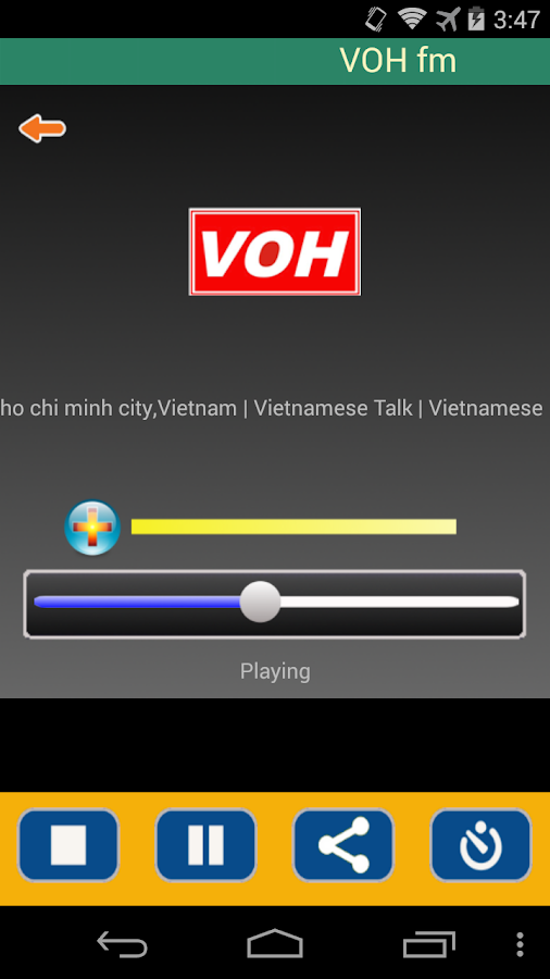 Radio Vietnam- screenshot