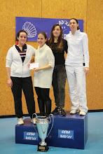 Photo: Double Dames C 1. Mélanie Schiano/Floriane Dubois (ASPTT) 2. Victoria Giuggiola/Fiona Braun (CEBA)