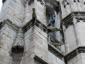 Photo: Scary gargoyles