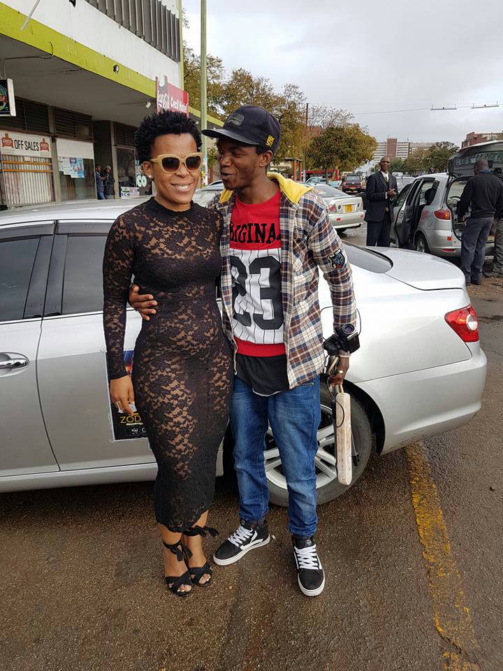 Zodwa Wabantu wants to meet Robert Mugabe