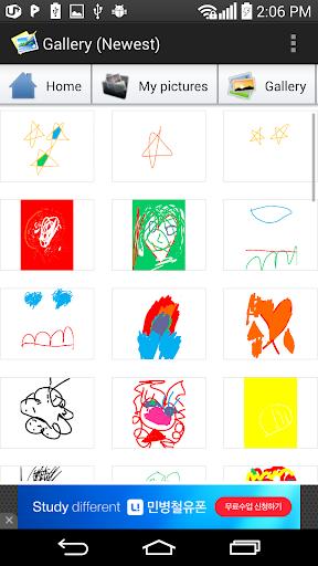 玩免費教育APP|下載绘图儿童俱乐部(游乐场) app不用錢|硬是要APP