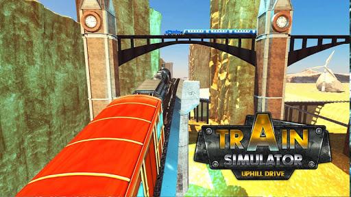 Train Simulator Uphill Drive apkpoly screenshots 15