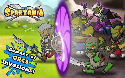 Spartania: The Orc War! Strategy & Tower Defense! - screenshot