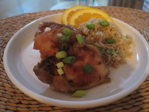 Oven Baked Maple-soy Chicken Thighs Recipe