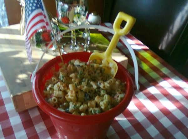 4th Of July Macaroni Salad Recipe