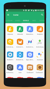 Rassy UX - Icon Pack Screenshot
