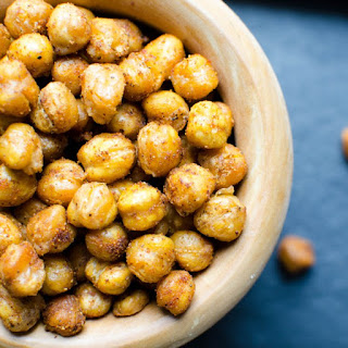Crispy Spiced Chick Peas