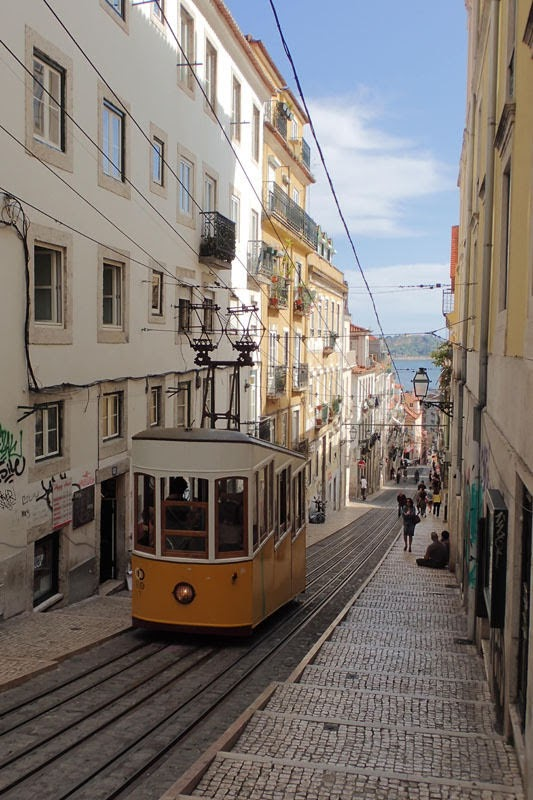 Ascensor da Bica (Lisbon, Portugal)