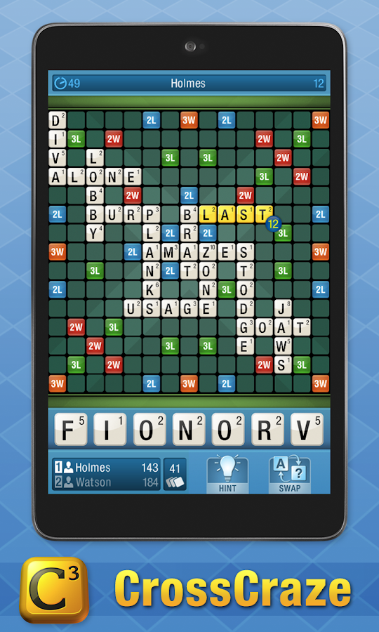 CrossCraze FREE - Classic Word Game- screenshot