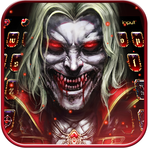 Vampire Demon Keyboard Theme