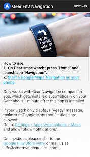 Gear Fit2 Navigation- screenshot thumbnail