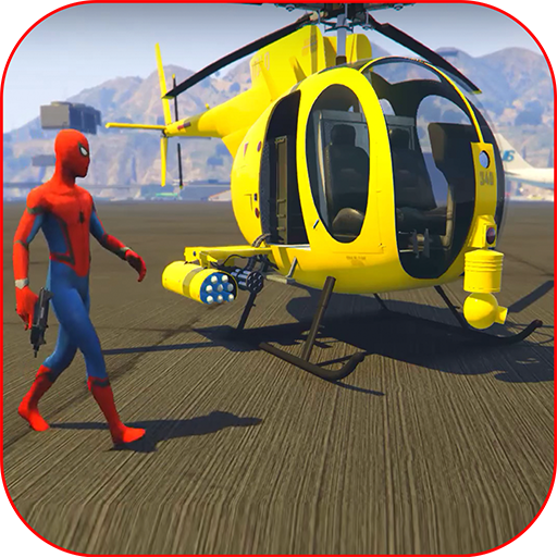 Superhero: Chinook RC chopper Race Simulator