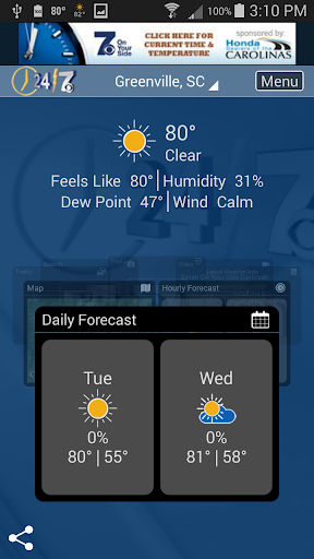 WSPA Weather