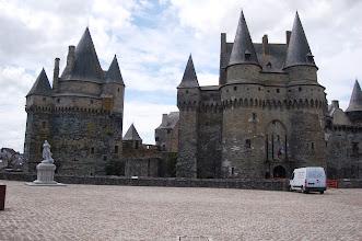 Photo: BRETANYA 2013. VITRÉ (GWITREG en bretó ): Château