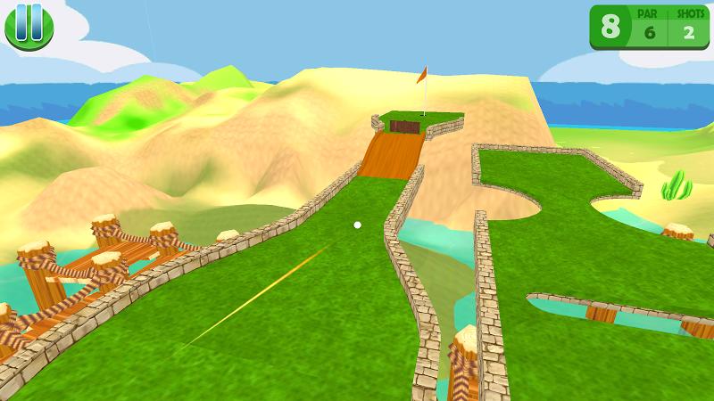 Скриншот Mini Golf: Islands