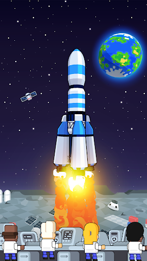 Rocket Star - Idle Space Factory Tycoon Game android2mod screenshots 7