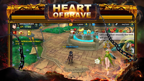 Hack Game Heart of Brave:Origin apk free