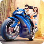Furious City Moto Bike Racer Android APK Download Free By Fun Blocky Games