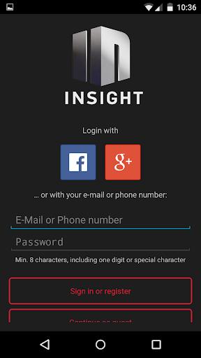 (APK) لوڈ، اتارنا Android/PC/Windows کے لئے مفت ڈاؤن لوڈ ایپس INSIGHT screenshot