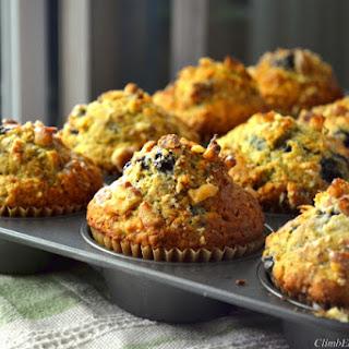 Sky-High Blueberry Buttermilk Muffins