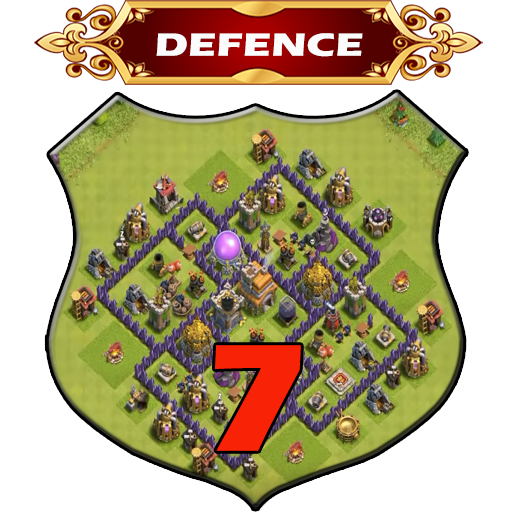 Town Hall 7 Defence Base Layouts