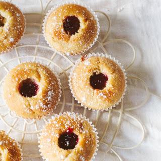 Vegan Jam Doughnut Cupcakes