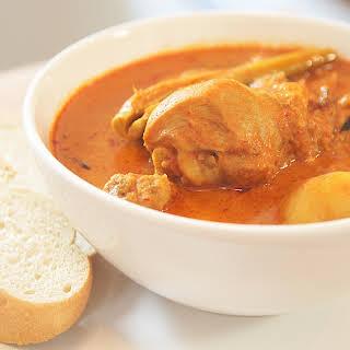Malaysian Curry Chicken.