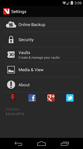 Hide Pictures & Videos - Vaulty 4.9.3 release r65000 screenshots 5
