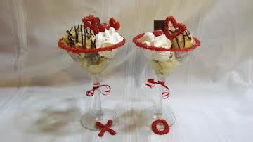 Cupid's Martini (Frozen Custard)
